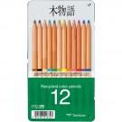 Crayons de couleur recyclés (12)
