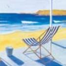 Chaise de plage (Bleu)