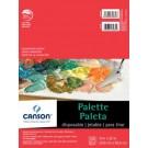 Canson Palette Jetable 9X12 (40)