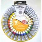 Simply Roue Chromatique Acrylique 24 -12ml + palette