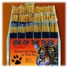 Eye of the Tiger Pinceaux