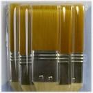 LC 1177 Ensemble pinceaux - Nylon brun1-2-3