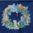 Couronne oursons(Bleu)