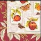 Fruits et papillons