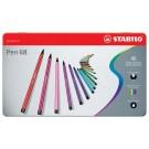 Stabilo - Pen 68 - Boite en métal (40)